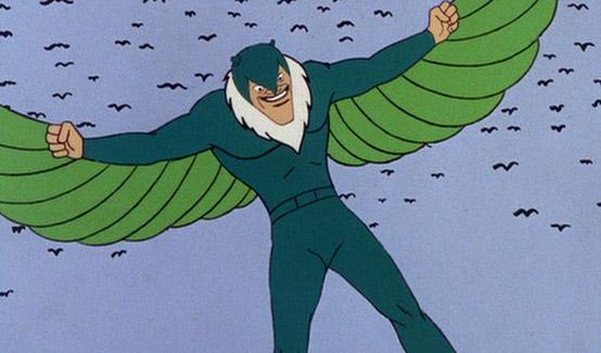 Стервятник в мультсериале Человек Паук (1967 год)