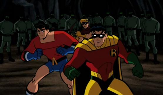 Робин в мультсериале Бэтмен: Отважный и смелый