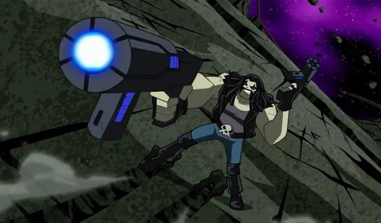 Лобо в мультсериале Justice League Action