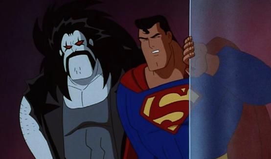 Лобо в мультсериале Супермен