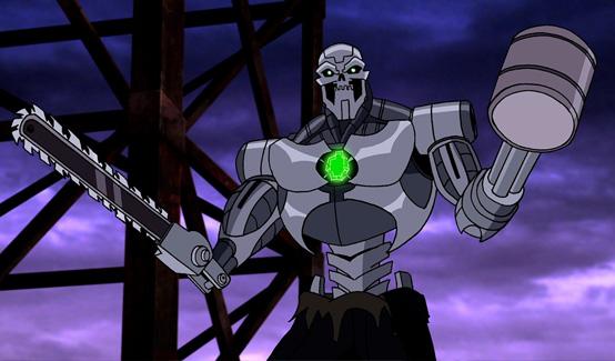 Металло появляется в Супермен/Бэтмен: Враги общества