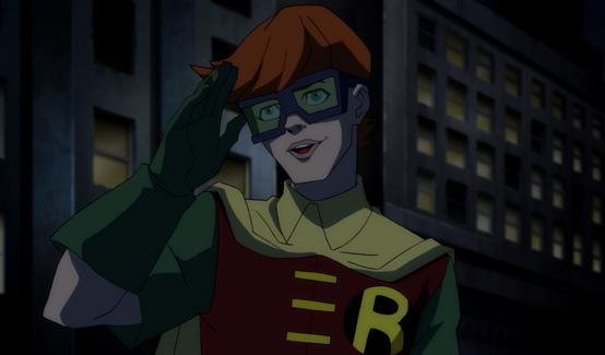 Робин появляется в Бэтмен: Возвращение Тёмного рыцаря