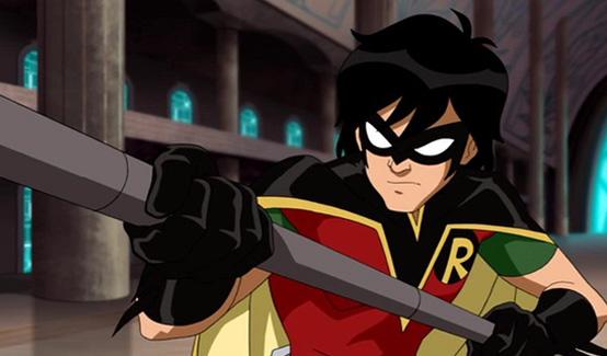 Робин появляется в Лига Справедливости: В ловушке времени