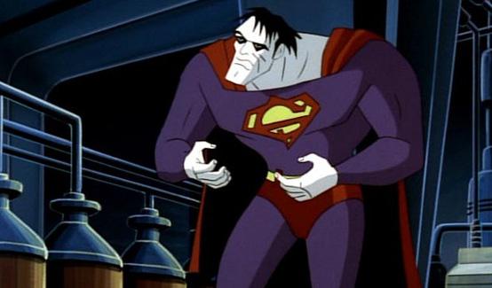 Бизарро в мультсериале Супермен