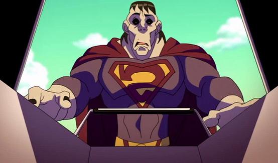 Бизарро появляется в Лига Справедливости: В ловушке времени
