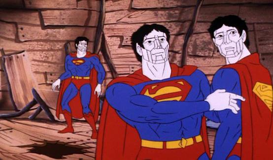 Бизарро в мультсериале Вызов Супер-друзеи774;