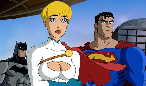 Пауэр Гёрл появляется в Супермен/Бэтмен: Враги общества