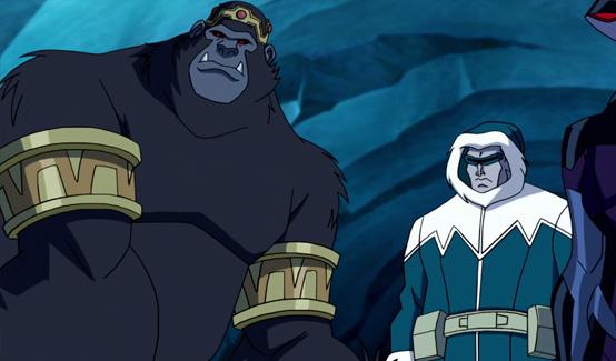 Горилла Гродд появляется в Лига Справедливости: В ловушке времени