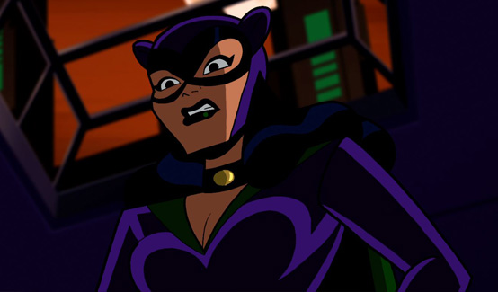 Женщина-кошка в мультсериале Бэтмен: Отважный и смелый