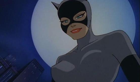 Женщина-кошка в мультсериале Бэтмен