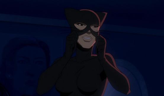 Женщина-кошка появляется в Бэтмен: Год первыи774;