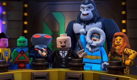 Гепарда появляется в LEGO супергерои DC: Лига Справедливости: Атака Легиона Смерти