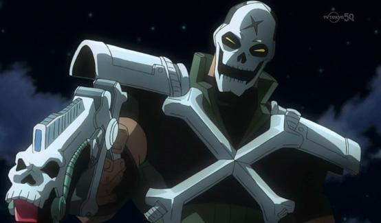 Кроссбоунс в мультсериале Мстители: Дисковые войны