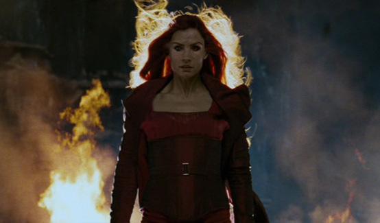 Джина Грей появляется в Люди Икс