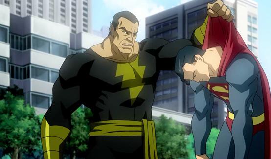 Чёрный Адам в Витрина DC: Супермен/Шазам! - Возвращение черного Адама