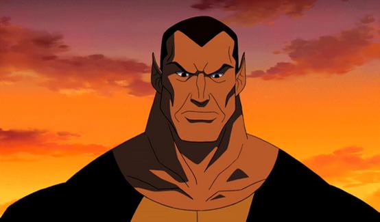 Чёрный Адам в мультсериале Юная Лига Справедливости