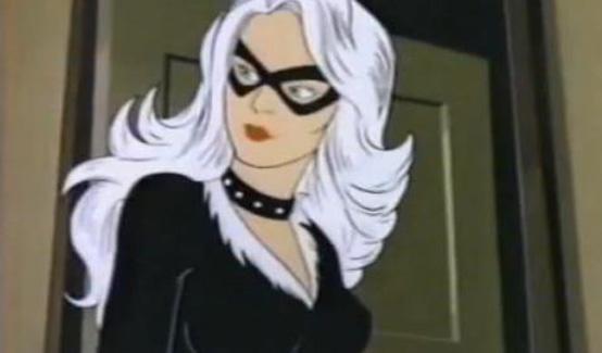 Чёрная кошка в мультсериале Человек-паук 1981