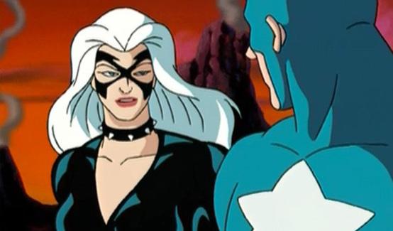 Чёрная кошка в мультсериале Человек-паук