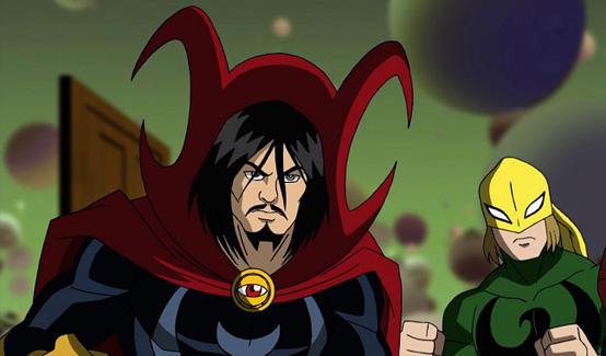 Доктор Стрэндж показан в мультике Великий Человек-паук