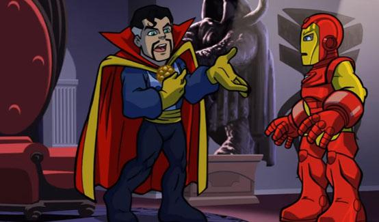Доктор Стрэндж мультсериале Отряд супергероев