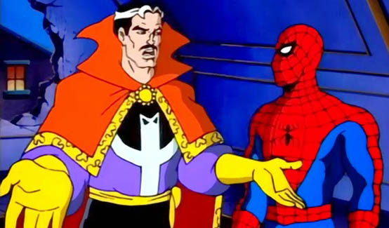 Доктор Стрэндж в мультсериале Человек-паук (1994 год)