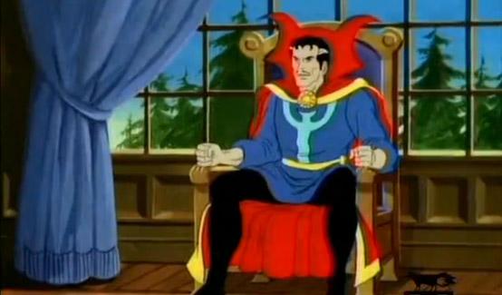 Доктор Стрэндж в Человек-паук и Его Удивительные Друзья