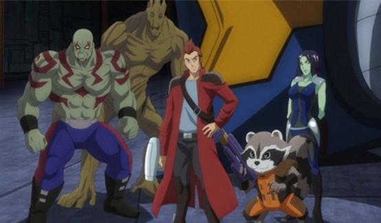 Грут в мультсериале Мстители: Дисковые войны