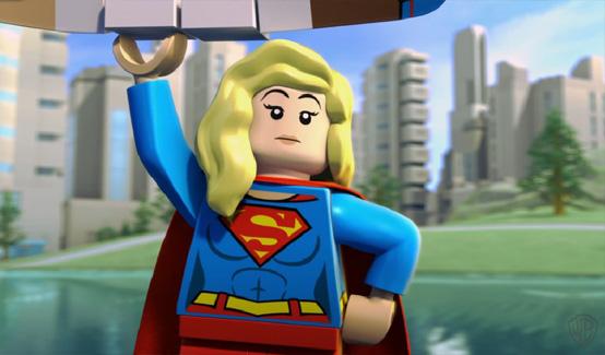 Супергёрл в LEGO Супергерои DC: Лига Справедливости - Космическая битва