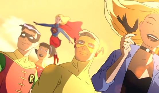Супергёрл в Лига справедливости: Новый барьер