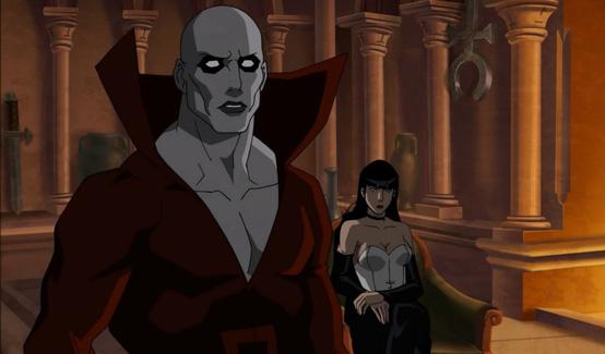 Мертвец в анимационном фильме Тёмная Лига Справедливости