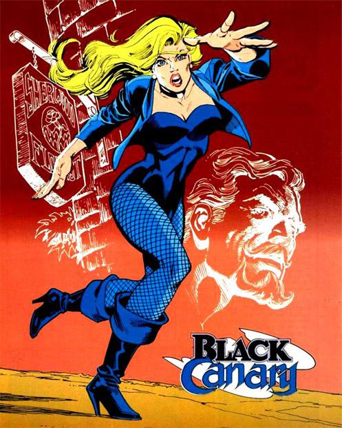 Чёрная Канарейка (Black Canary)
