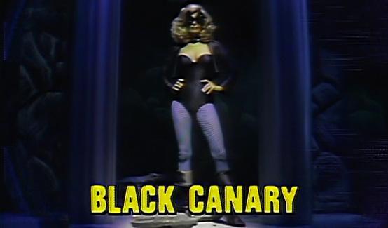 Чёрная Канарейка появляется в Легенды супергероев