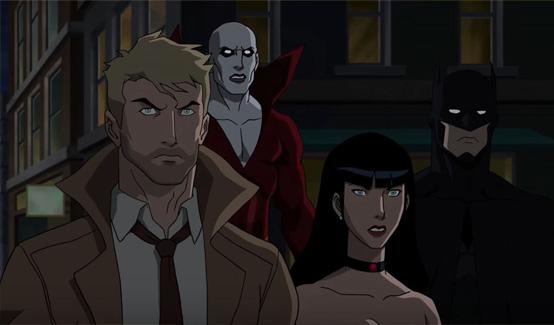 Тёмная Лига появляется в анимационном фильме Тёмная Лига Справедливости