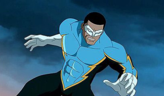 Чёрная молния в Супермен/Бэтмен: Враги общества