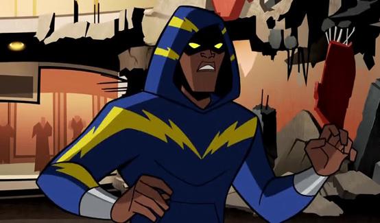 Чёрная молния в мультсериале Бэтмен: Отважный и смелый