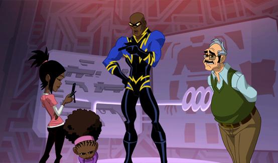 Чёрная молния в мультсериале DC-нация