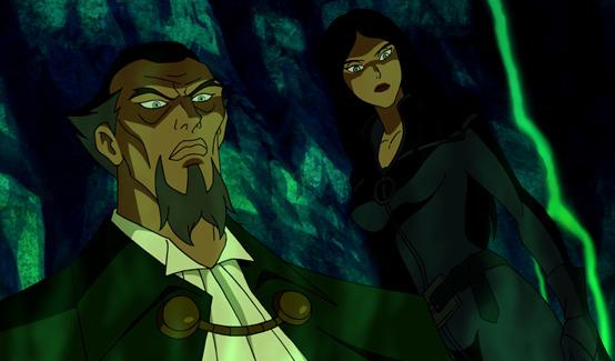 Талия аль Гул появляется в Бэтмен: Под красным колпаком