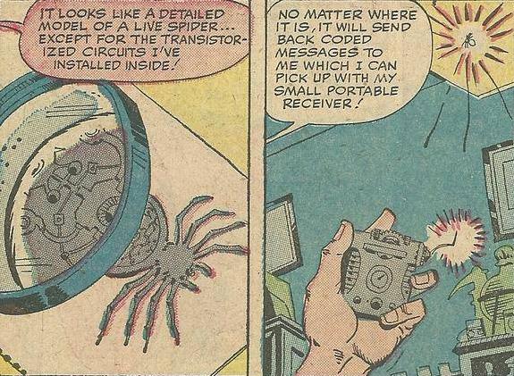 Паучий маячок (Spider-Tracer)