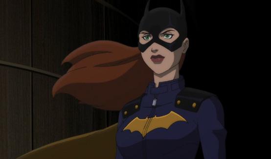 Бэтгёрл появляется в Бэтмен: Дурная кровь