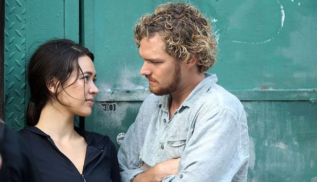 Фото со съёмок сериала, Железный Кулак