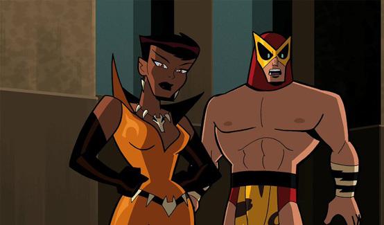 Лисица в мультсериале Бэтмен: Отважный и смелый