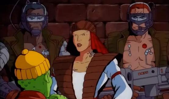 Расхитители в мультсериале Люди Икс