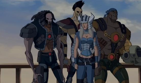 Расхитители в мультсериале Росомаха и Люди Икс