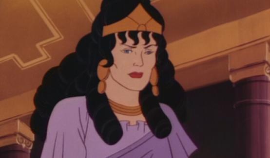 Ипполита в мультсериале Супермена (1988 год)