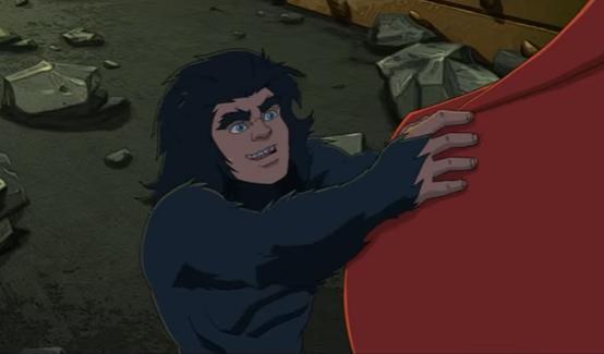 Лунный мальчик в мультсериале Халк и агенты СМЭШ