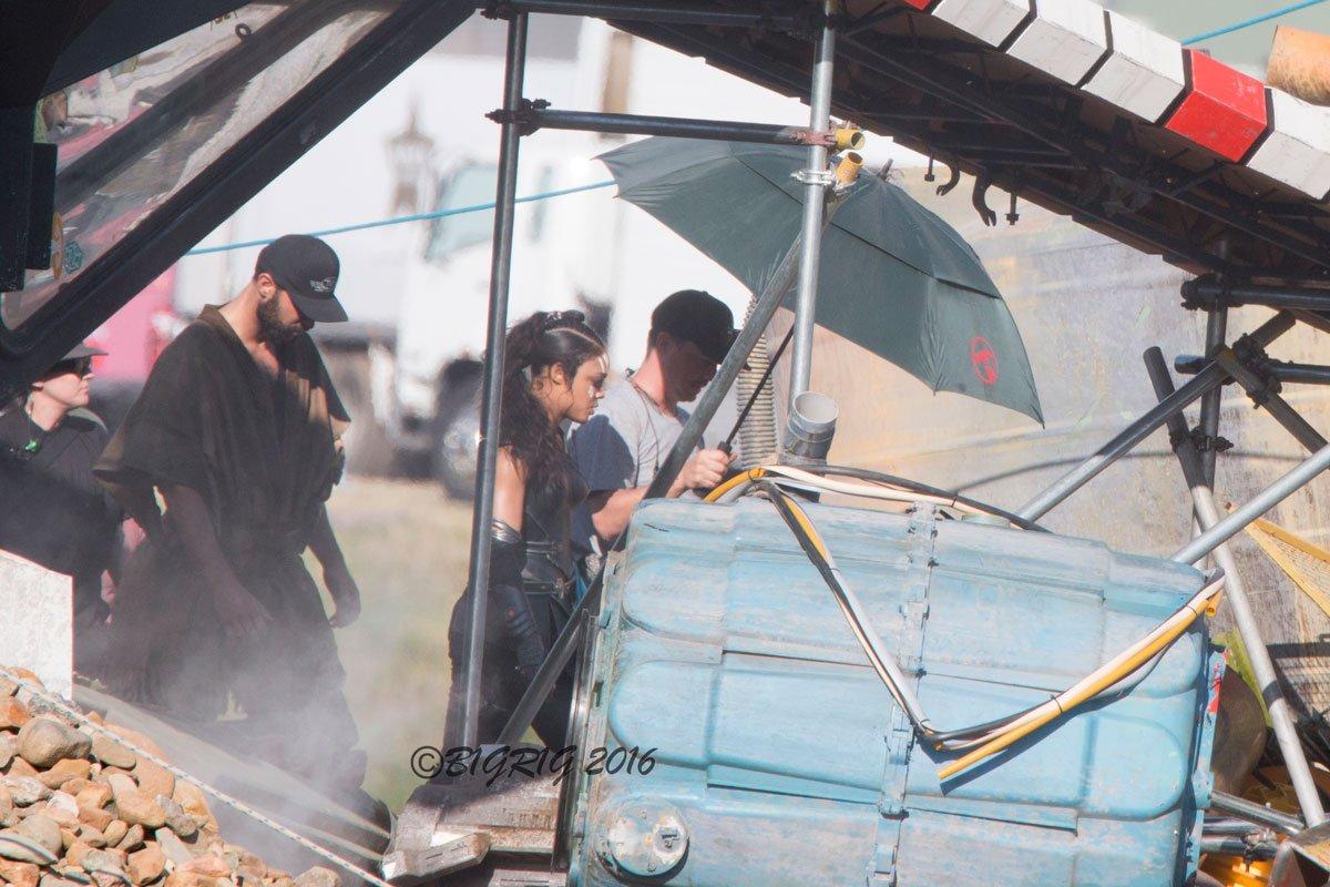 Фото со съёмок фильма Тор 3