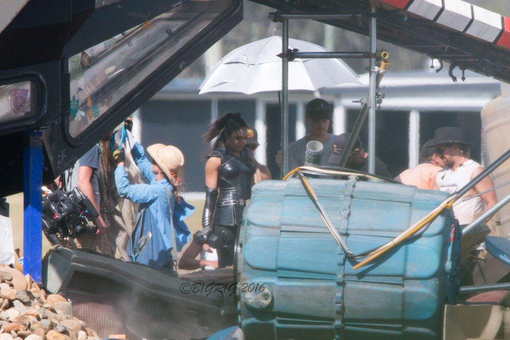 Фото со съёмок нового фильма про Тора
