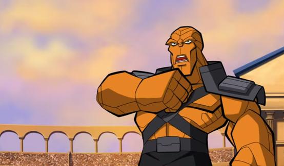 Корг в мультсериале Отряд супергероев