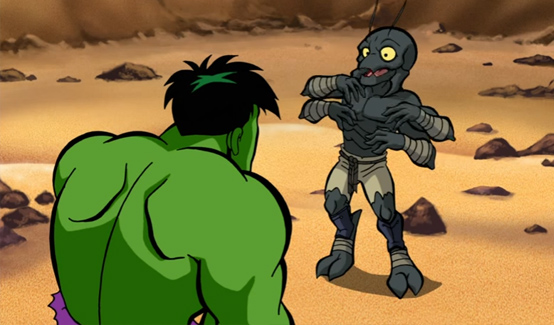 Миек в мультсериале Отряд супергероев