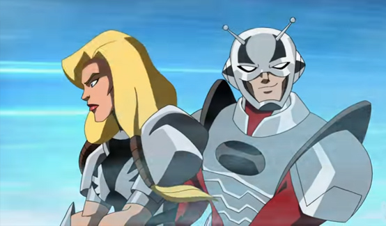 Валькирия в мультсериале Мстители: Могучие герои Земли